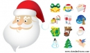 Standard Christmas Icons