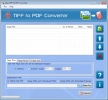 Convert Multipage TIFF to PDF