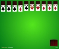spider solitaire, 4 suit
