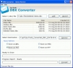 Conversion DBX to PST