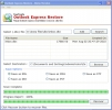 Microsoft Outlook Express Restore