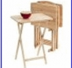 folding tray table - puzzle