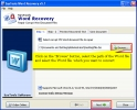 Word 2003 Recovery