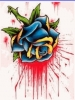 Gothic Rose Tattoo - Puzzle