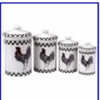 Ceramic Kitchen Canisters - Puzzle