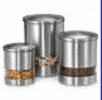 Stainless Steel Canister - Puzzle