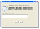Article Page Maker