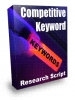 Competitive Keyword Research Tool
