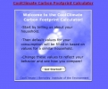 CoolClimate Carbon Footprint Calculator