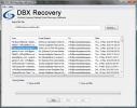 Microsoft Outlook Express DBX Repair Tool