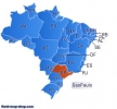 Mapa Flash de Brasil Gratuito (Free Brazil Flash Map)