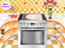 Cocina de pizza de pescado (Fish Pizza Cooking)