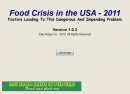 Food Crisis in the USA 2011