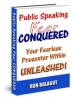 Public Speaking Fear Conquered (Ebook)