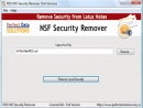 Notes Database Local Security Remover