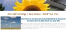 Alternative Energy - Save Money