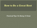 Great Host: Cheap Website Hosts