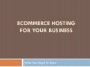 Ecommerce Host Web: E Commerce Host Web