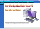 Post Office Agent Batch Maker Rs 1500.00
