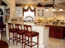 Cocina Isle�a con Barra Americana (Kitchen Islands With Breakfast Bar)