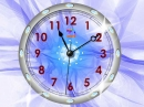 Crystal Clock screen saver