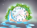 Natural Harmony Clock Screen Saver