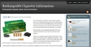 Rechargeable Cigarette Information Ebook