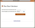 DDCM Due Date Calculator