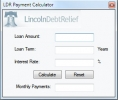 LDR Payment Calculator