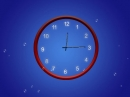 Fondo de Pantalla Animado con Reloj Abstracto (Abstract Clock Animated Wallpaper)