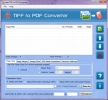 Converting TIF File to PDF