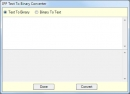 IPP Text To Binary Converter