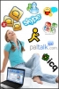 free download MSN,ICQ,YAHOO,SKYPE