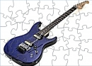 FPS Blue Electric Guitar Puzzle