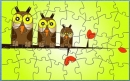 VR Owl Family Puzzle
