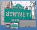 How to read Thai - road sign puzzle