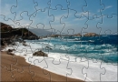 Beautiful Sandy Beach Power Puzzle