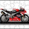 Red Motorcycle Puzzle