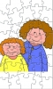 Mother and Child Puzzle Game