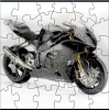 Grey Motorcycle Puzzle