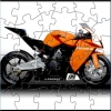 Orange Motorcycle Puzzle