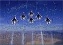 MMC Thunderbirds In Flight Puzzle