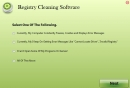 Software de limpieza de registro. (Registry Cleaning Software)