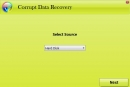 Corrupt Data Recovery
