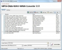 MP3-OGG-WAV-WMA Converter