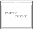 Tema Vac�o (Empty Theme)