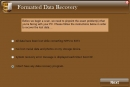 Formatted Data Recovery