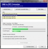 Conversor del DBX de Outlook Express a PST (Outlook Express DBX to PST converter)