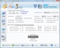 Software generador de c�digo de barras para hospitales. (Barcode Software for Hospitals)