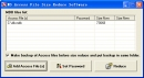 Fans MS Access File Size Reduce Software